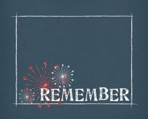 Memorial Day Printable: REMEMBER