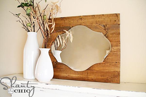 Shanty 2 Chic: DIY Pallet Mirror
