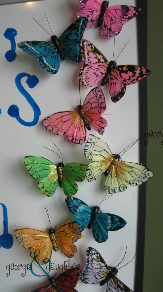 Butterfly Magnets with logo