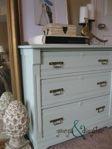 georgia & daughter: Painted Dresser