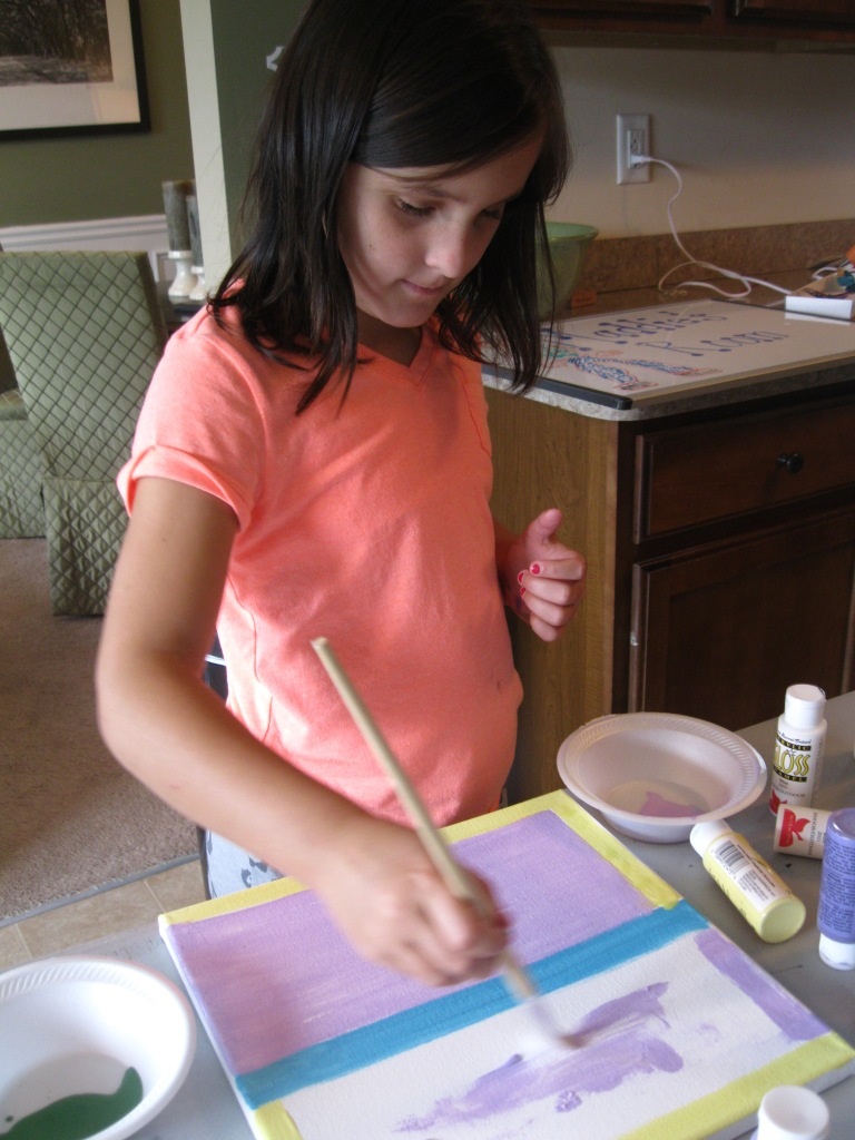 georgia & daughter: Pre-Teen Crafts