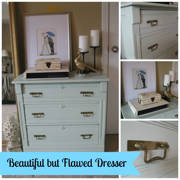 georgia & daughter: A Beautiful but Flawed Dresser