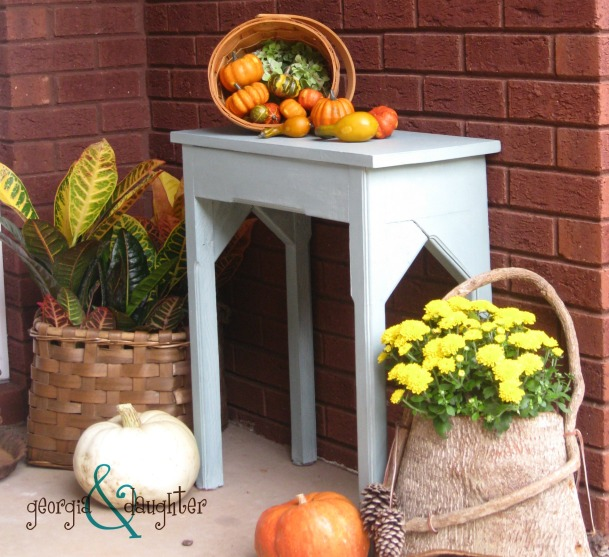 georgia & daughter: Classic Country Fall Porch