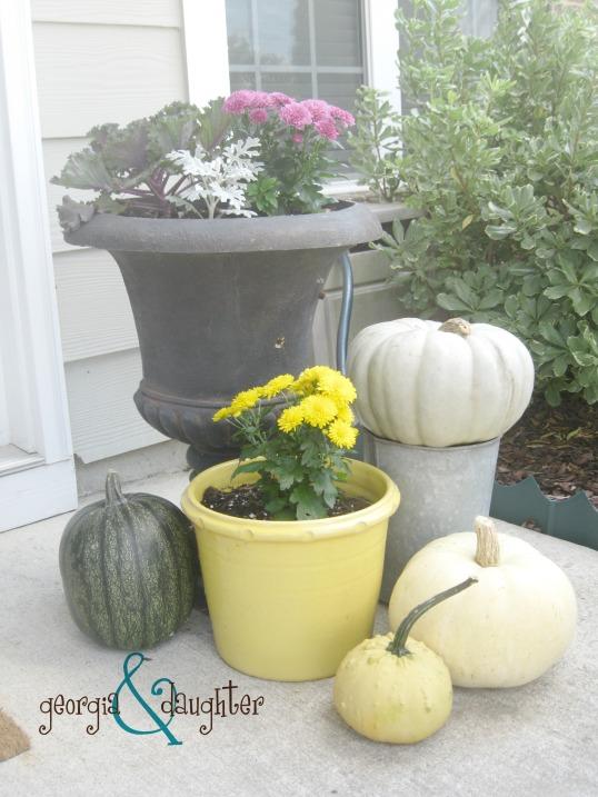 georgia & daughter: Fall Gardening