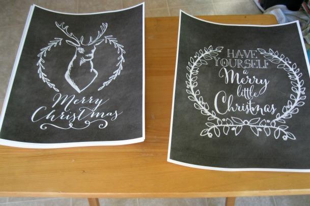 Nest of Posies Free Chalkboard Printable