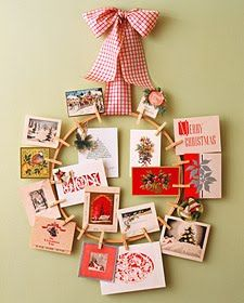 Martha Stewart Card Wreath