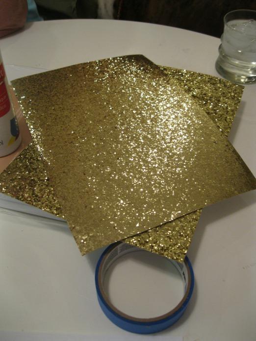 Gold Glitter Sheets