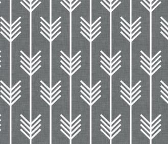 Gray Arrow Fabric