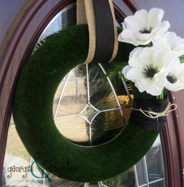 georgia & daughter: Modern Spring Wreath