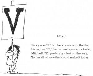 LOVE by Shel Silverstein