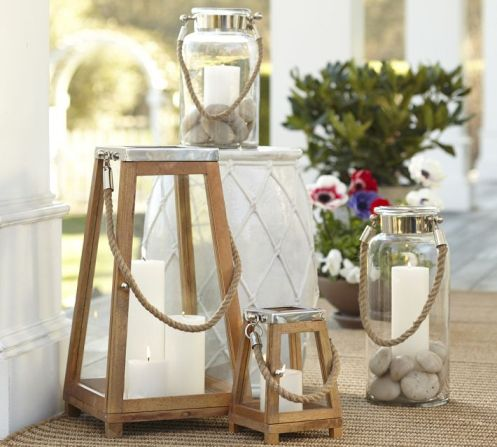 Potterybarn Plymoth Lantern