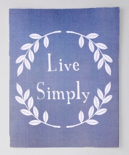 Gus and Lula Live Simply Print