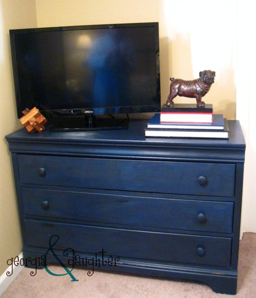 A New (Old) Blue Dresser