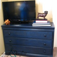 A New (Old) Blue Dresser