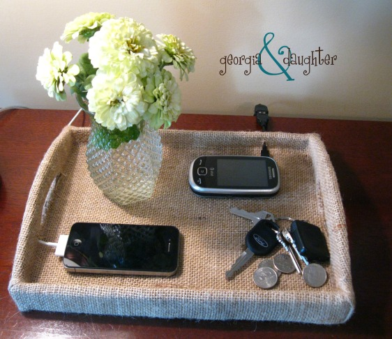 georgia & daughter: DIY Charging Station