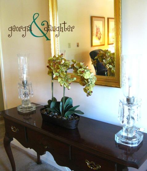 georgia & daughter: Faux Floral Orchids