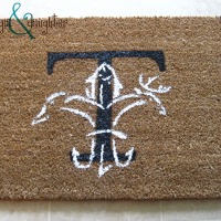 {DIY} Louisiana Sportsman Welcome Mat