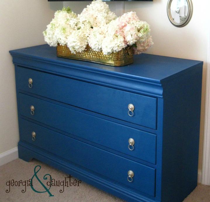 georgia & daughter: Custom Annie Sloan Dresser